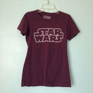 Star Wars Women's Small Tshirt Disney Short Sleeve